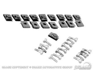 64-66 Convertible Top Boot Snap Kit