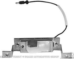 64-70 Rear License Lamp Assembly