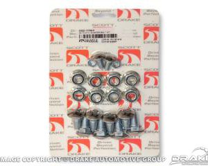 64-70 Bumper Bolt Kit (Standard 20pc)