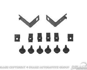 64-66 Front Bumper Guard Hardware Kit