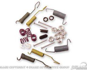 "64-71 Brake Spring - Hold Down Kit (10""x2"", Front/Rear)"