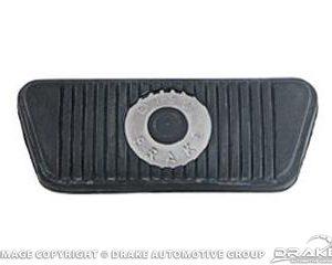 65-67 Brake Pedal Pad (Disc brakes, Auto)