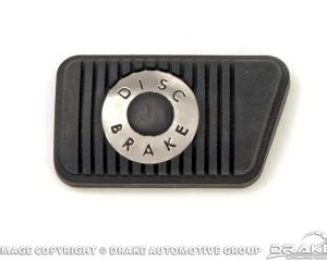 65-73 Brake Pedal Pad (Disc Brakes, Manual)