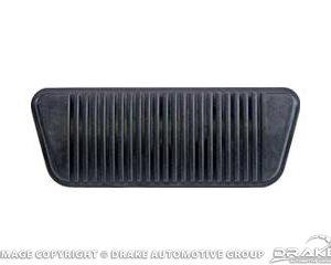 65-67 Brake Pedal Pad (Drum Brakes, Auto)
