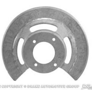 65-67 Disc Brake Dust Shields