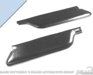 1966 Convertable Sun Visor (Light Blue)