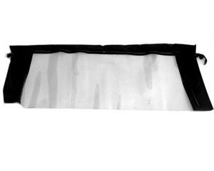 64-66 Glass Convertible Top Rear Window (Black)