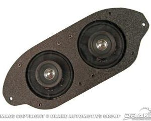 64-66 Dual Dash Speakers (3inch Dual Cone)