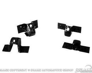 67-68 Rear Bumper Braces