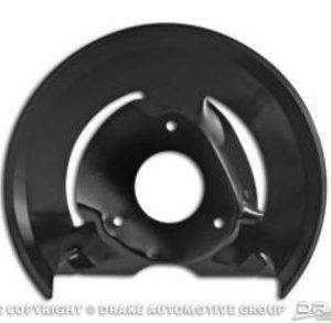 68-73 Disc brake dust shields