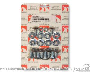 69-70 Bumper Bolt Kit (Deluxe 28 piece)