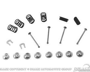 """64-73 Brake Spring / Hold Down Kit (10""""x2"""",Front or Rear)"""