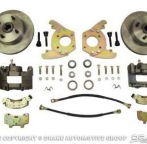 64-66 Disc Brake Conversion Kit (6 cylinder, original 4 lug, single piston calipers, will not fit original