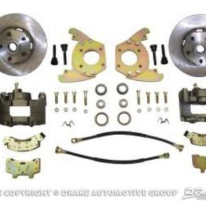 "64-66 Disc Brake Conversion Kit (6 cylinder, 5 lug, single piston calipers, will not fit original 14""x5"" standard steel rims)"