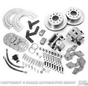 64-73 Rear Disc Brake Conversion Kit (Super duty, 28 spline rear axle)