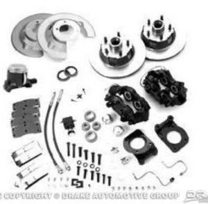 64-66 Disc Brake Conversion Kit with Master Cylinder (8 cylinder manual brakes, single reservoir master Cylinder, OE Design)