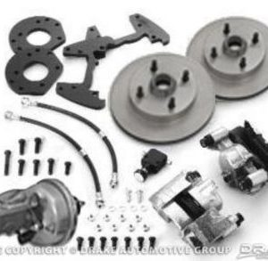 64-66 Disc Brake Conversion Kit with Master Cylinder (6 cylinder, dual master cylinder, power, automatic only)