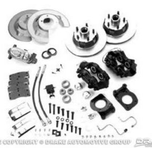 67-69 Disc Brake Conversion Kit with Master Cylinder (8 cylinder, non-power)