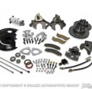 68-69 Disc Brake Conversion Kit with Master Cylinder (8 cylinder, non-power)
