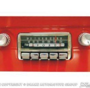 64-66 Replica AM-FM Radio