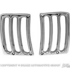 64-66 Gill Trim (Chrome)