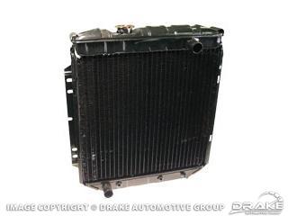 64-66 3 Row Hi-flow Radiator (6 Cyl)
