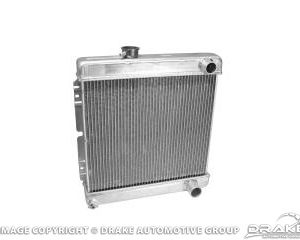 64-66 2-Row Aluminum Radiator (for Manual Trans)