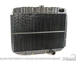 67-70 24 Inch, 3-Row, Hi-Flo Radiator