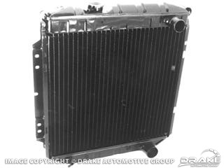 67-70 3-Core Radiator (302, 351, 390, 428, with A/C)