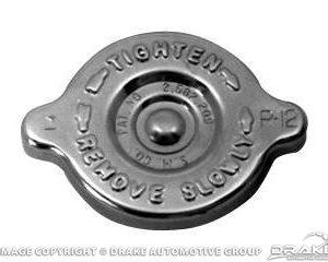 64-66 Concours Radiator Cap (Chrome)