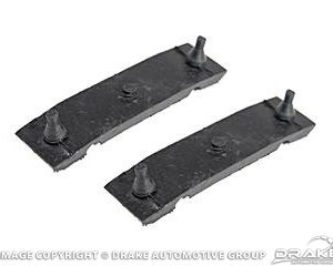 67-70 Radiator Mounting Insulators (Upper)
