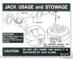 Jack Instructions (Regular Wheel)