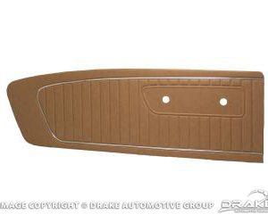 64-65 Standard Door Panels (Palamino)