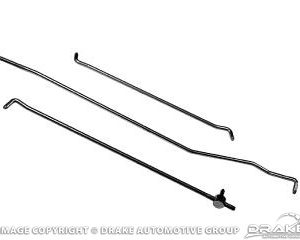 67-68 Door Lock Rod Set (RH)