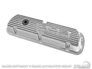 302 Polished Aluminum Valve Covers (Pair)