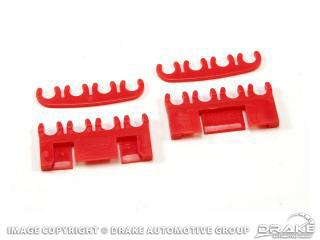 Spark-Plug-Wire Separator Set (Red)