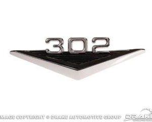 64-66 302 Fender Emblem