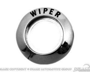 64-66 Wiper Switch Bezel