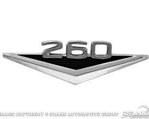 "64 ""260"" Fender Emblem"