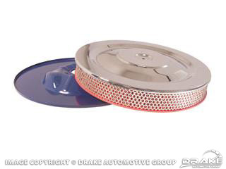 64-73 High-Performance Air Cleaner (6 Cyl, Show Quality)