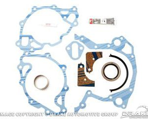 64-73 Timing Chain Cover Gasket (260, 289, 302, 351W)