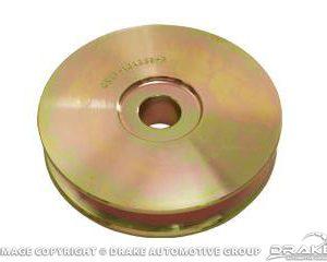 Hi-Po Alternator Pulley (Yellow Steel)