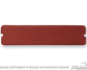 66-67 Door Panel Cup Pad (Dark Red)