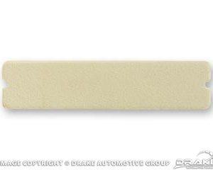 64-66 Door Panel Cup Pad (White)