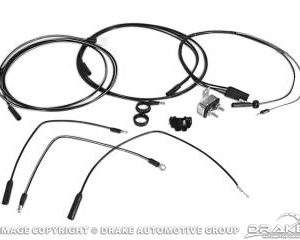 64-65 Fog Lamp Wiring Conversion Kit
