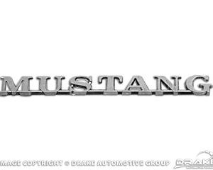 "Mustang Fender Emblem (Early 4 1/2"" version)"