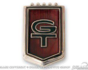 "1965 ""GT"" Fender Emblems"