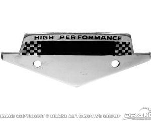 65-66 High Performance Emblem