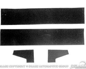 64-6 Rear Vertical Glass Run Repair Kit