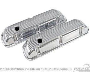Cal Custom Aluminum-Finned Valve Covers